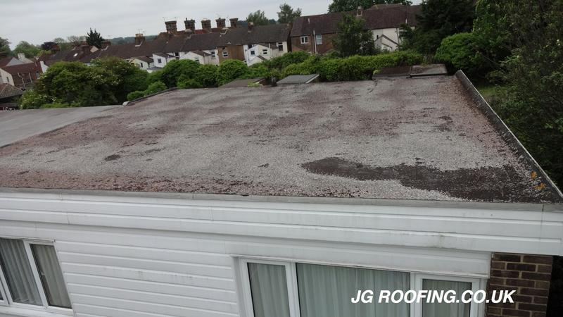 Image 11 - Existing Flat Roof In Gillingham Kent