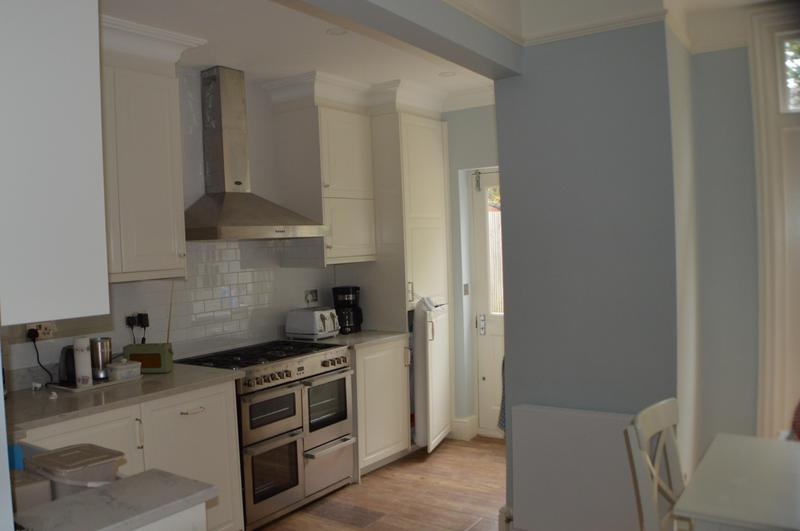 Image 13 - Build side extension, fit new kitchen units and decorate