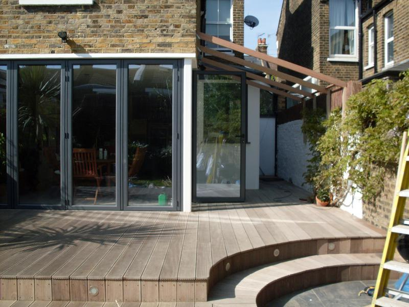 Image 11 - Build conservatory and fit decking