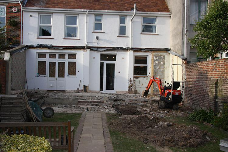 Image 18 - Front Extension - Before