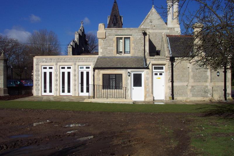 Image 48 - Extension to a Grade 1 listed property