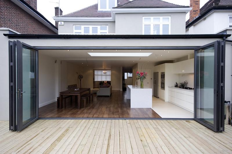 Image 8 - Brockley project. Rear extension.
