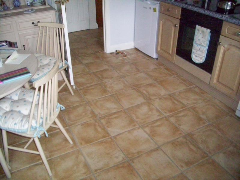 Image 25 - Kitchen Floor Tiled