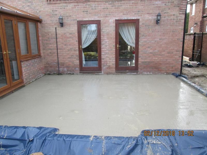 Image 17 - Milton Keynes site concreted
