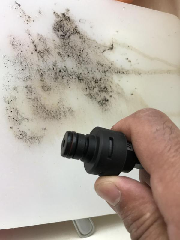 Image 3 - An example of the debris that settles in you pressure switch. This can give false readings of either high or low pressure or even f9 faults on glow worms