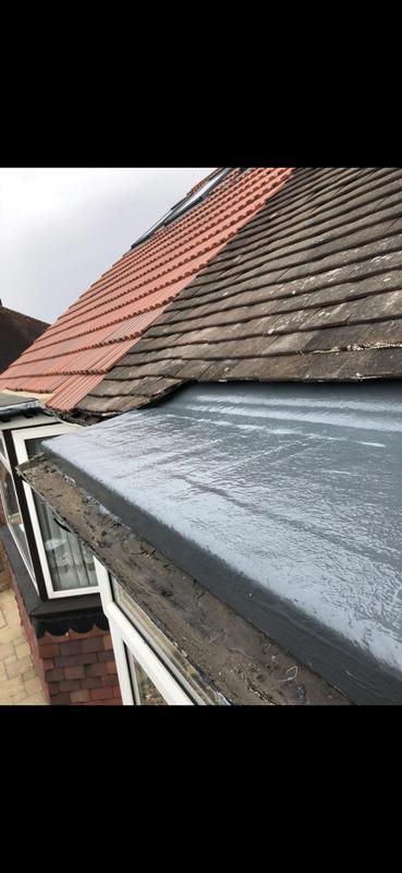Image 17 - GRP fibre glass roof