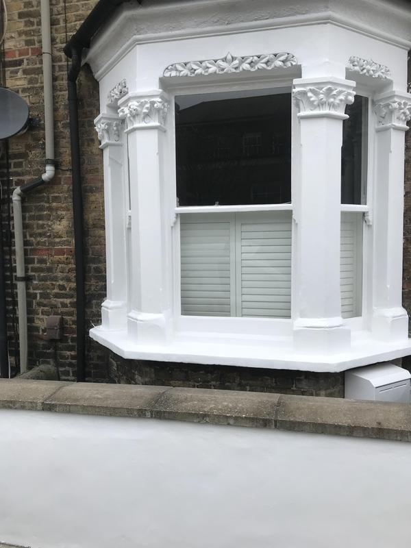 Image 1 - Extensive preparation on an exterior in Battersea to get high quality finish happy client polly hopper who left a kind review