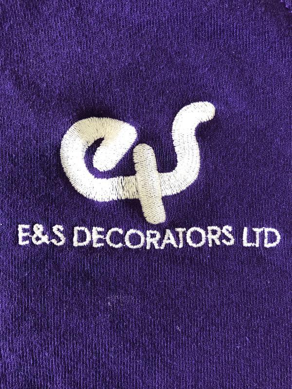 E&S Decorators logo