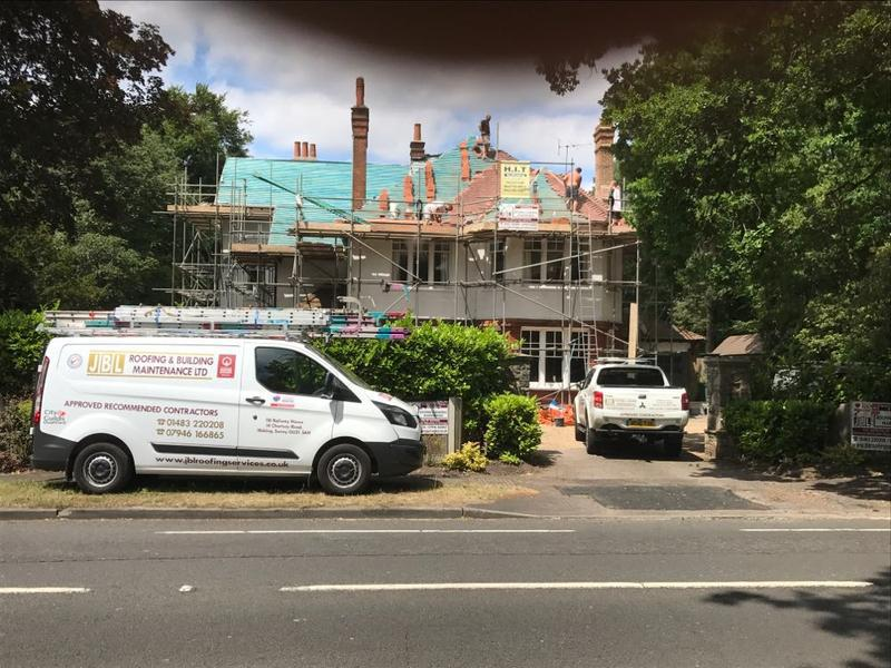 Image 76 - Full Re-roof and chimney re-pointing in Woking Surrey