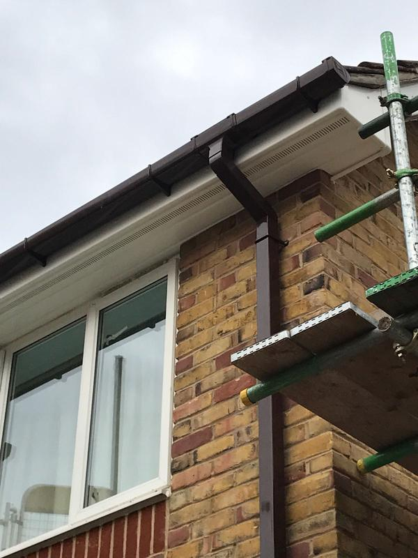 Image 50 - New upvc fascia,soffit and guttering also downpipe.