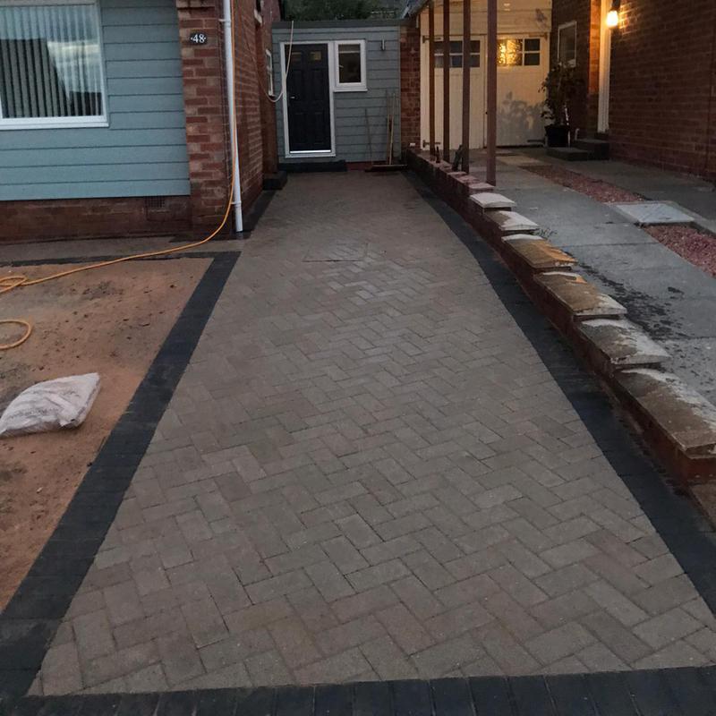 Image 25 - Block paving driveway