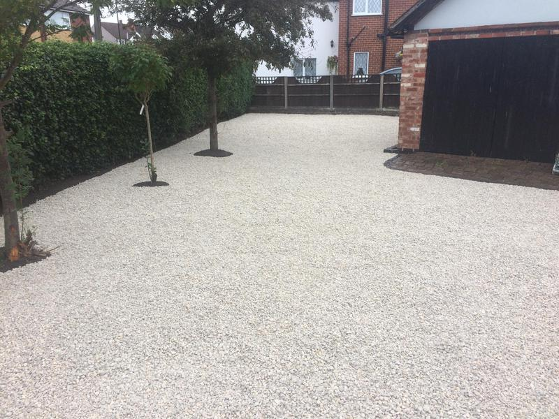 Image 20 - New 20mm Cotswold gravel driveway coventry