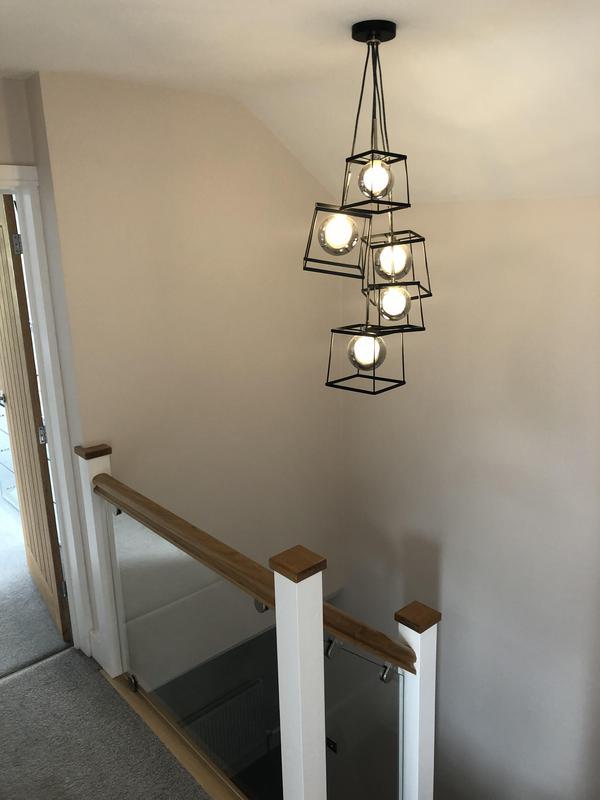 Image 8 - Light fitting installation