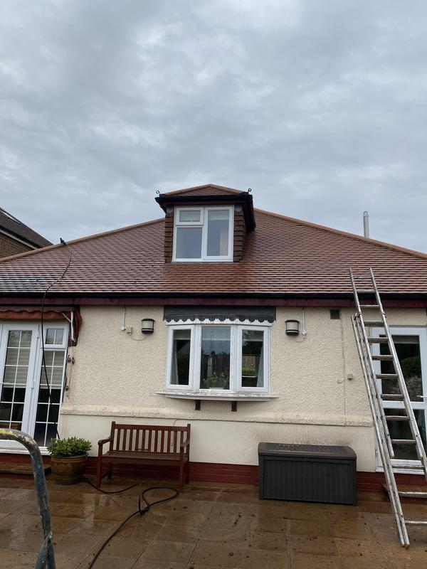 Image 28 - After. Roof cleaned and sealed