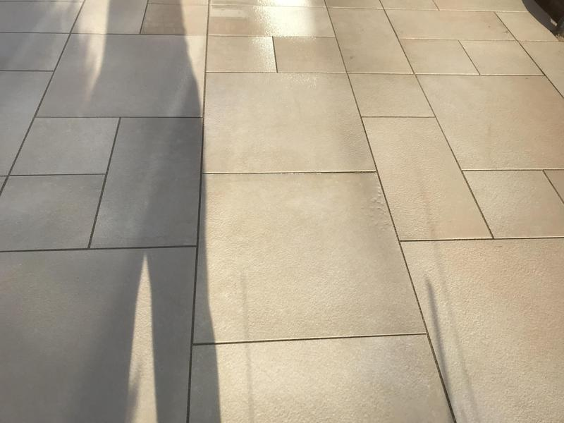 Image 6 - Porcelain slabs with easy grout and pattern