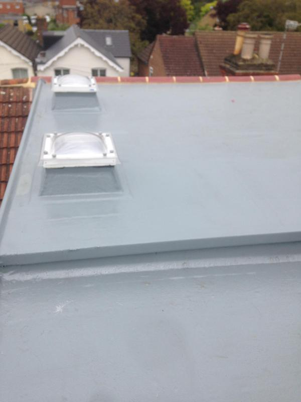 Image 9 - Fibreglass roof in Hampton hill by us.