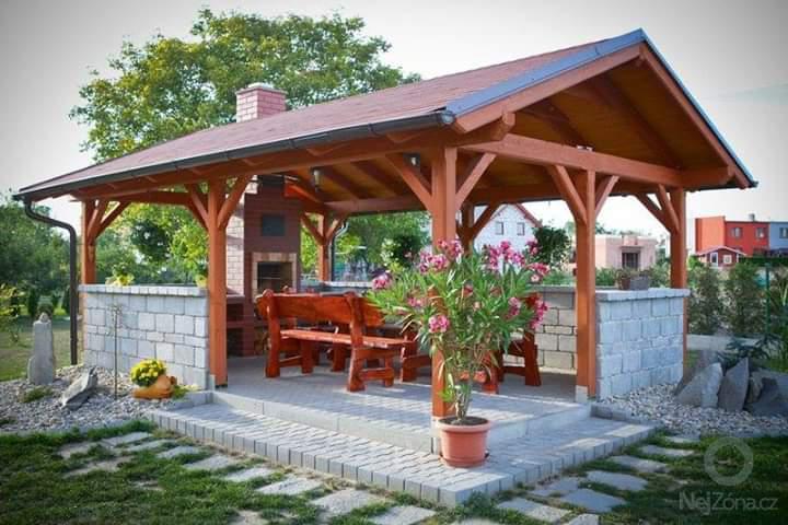 Image 12 - Garden pavilion /bar , barbecue