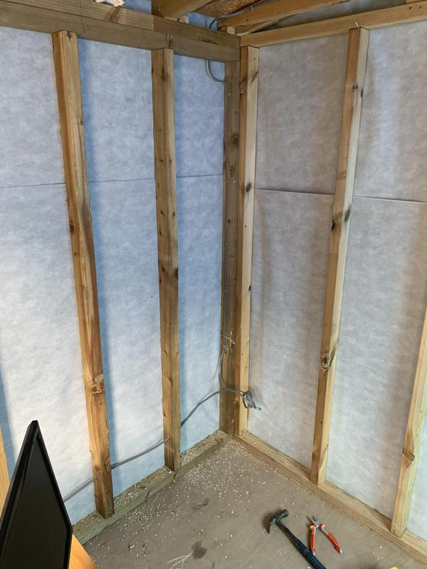 Image 5 - First fix of new garden office