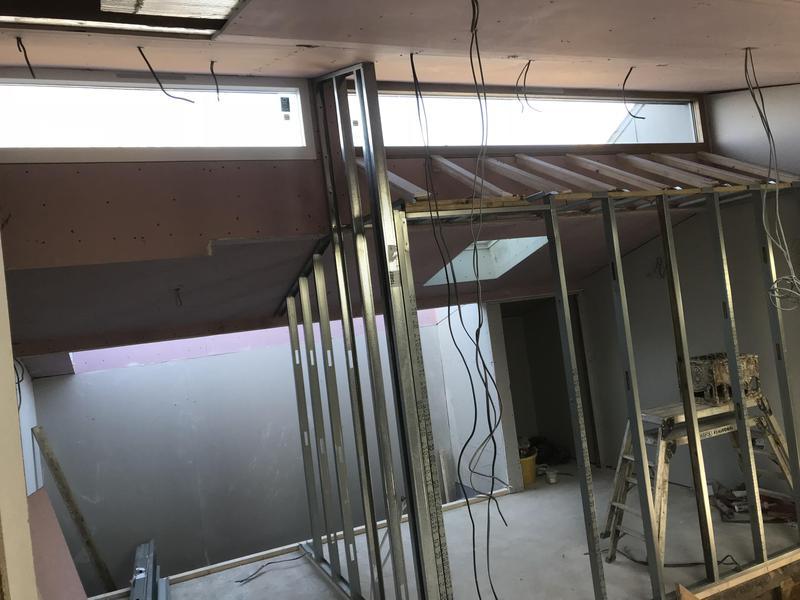 Image 36 - Metal stud walls