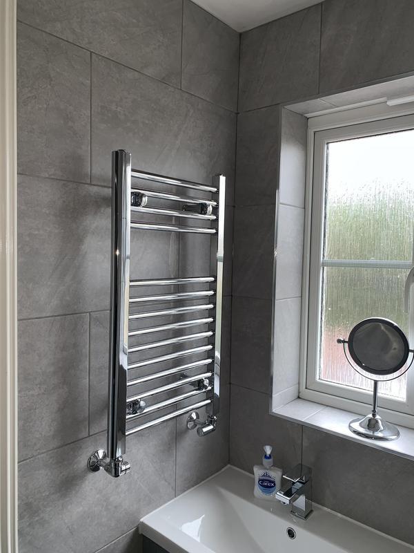 Image 27 - After. Crayford, Bareburn Park. Bathroom refurb