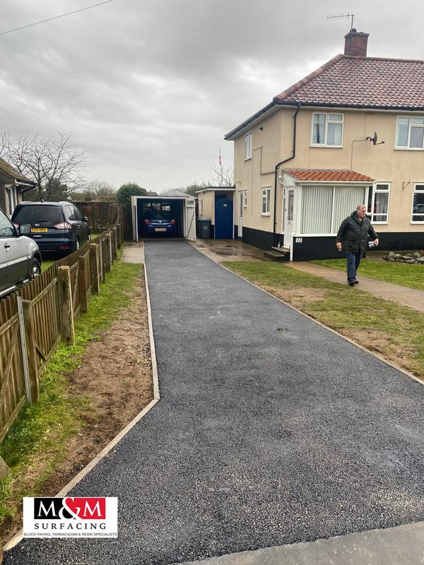 Image 61 - Tarmac driveway completed