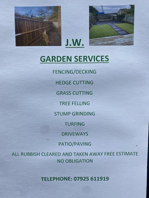 JW Garden Services logo