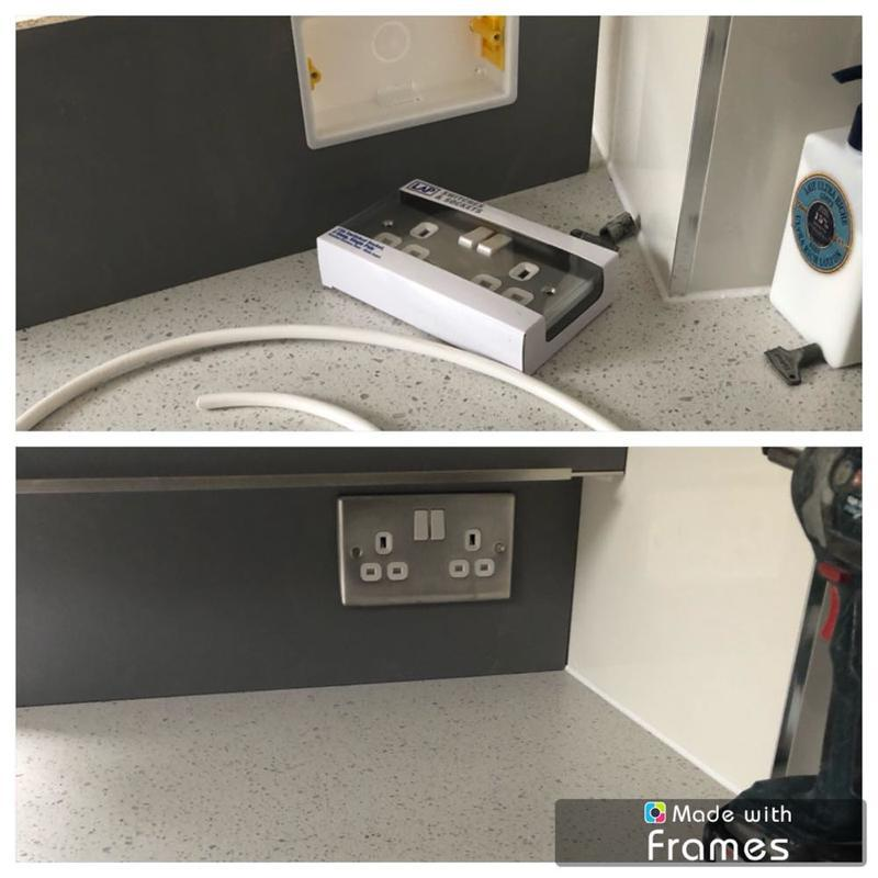Image 8 - Additional kitchen socket