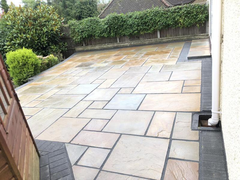 Image 29 - No mixed Indian sandstone slab