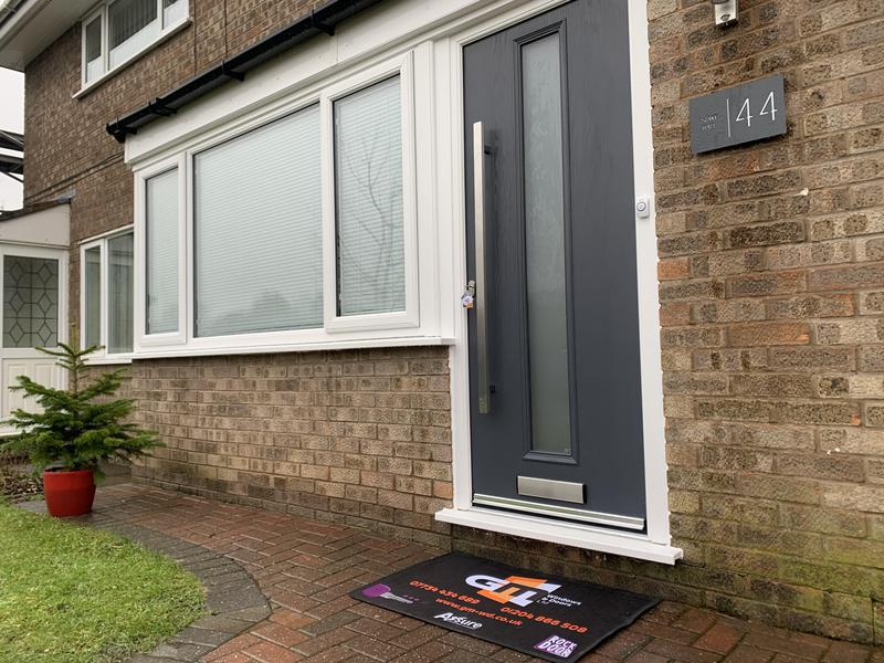 Image 18 - Mart door contemporary long bar handle & joined window