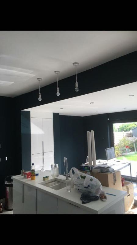 Image 30 - karen ahern green paint and armstead matt ceilings