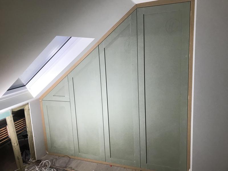 Image 11 - Angled loft storage