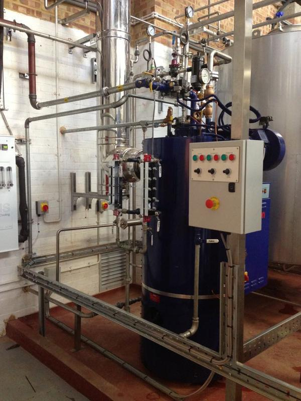 Image 27 - Steam Boiler Installation 2 of 2