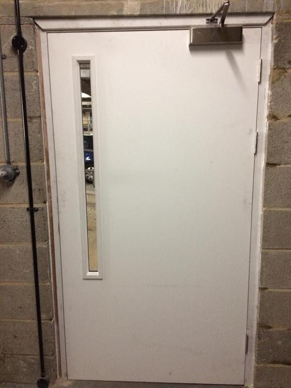 Image 33 - Fire door set