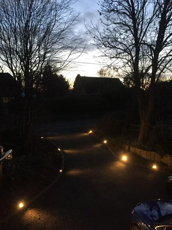Image 22 - Driveway lighting