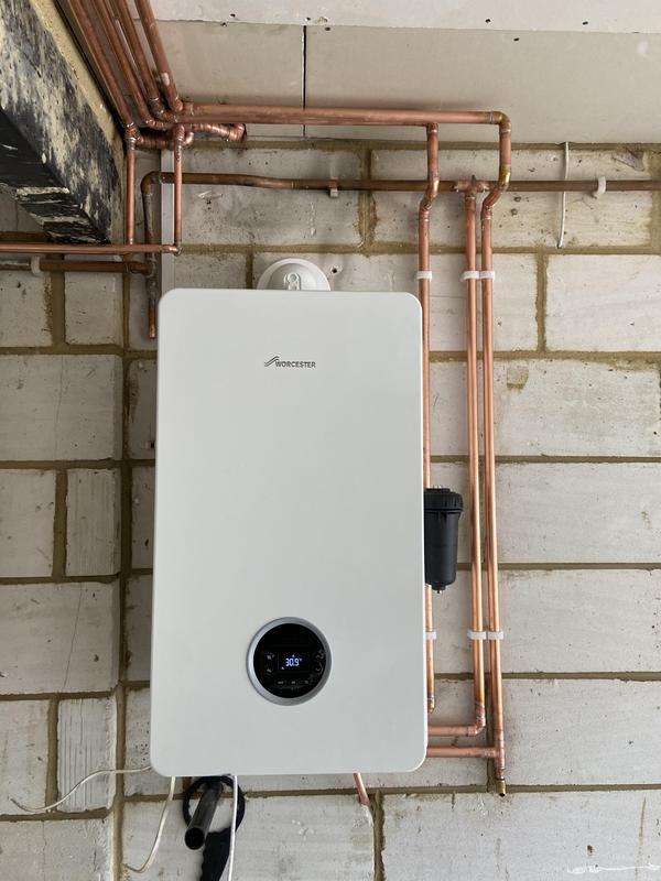 Image 51 - New boiler installation