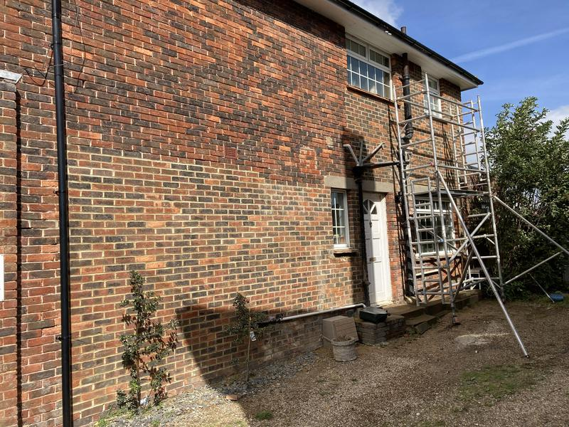 Image 9 - Repointing process ferring