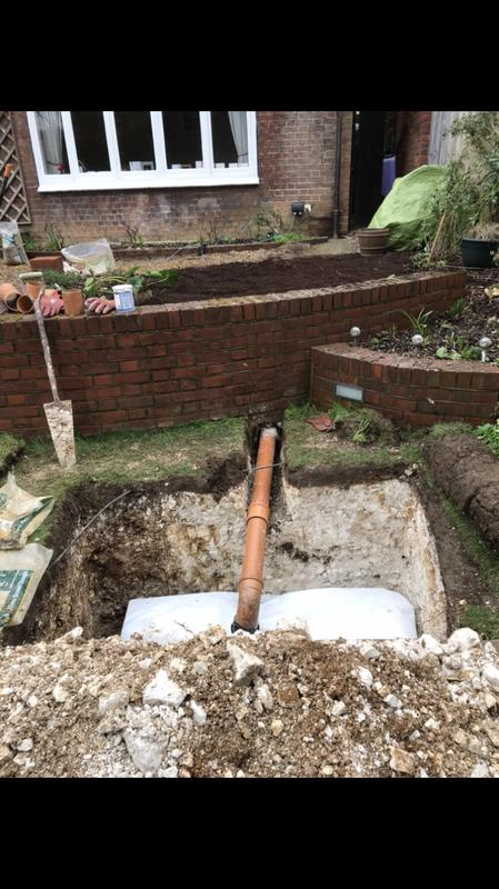 Image 5 - New soak away installed in Harpenden