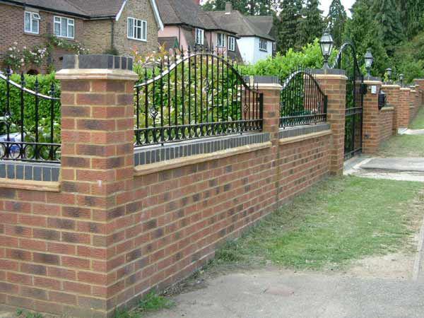 Image 163 - Brick wall /fence designs