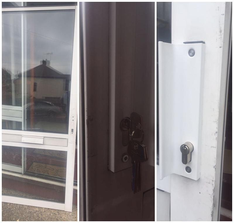 Image 15 - Broken Mechanism Repaired On Sliding Patio Door In Rainham