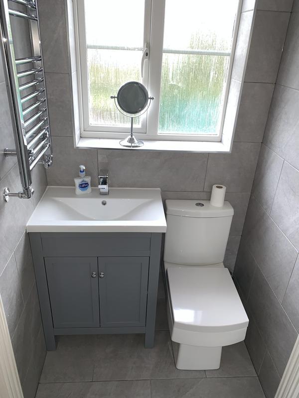 Image 26 - After. Crayford, Bareburn Park. Bathroom refurb