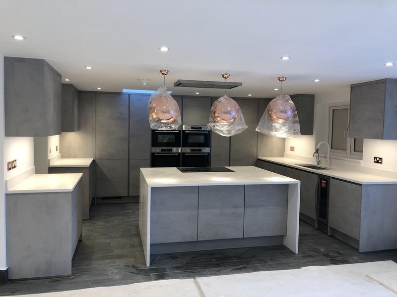 Image 1 - Kitchen electrical installation