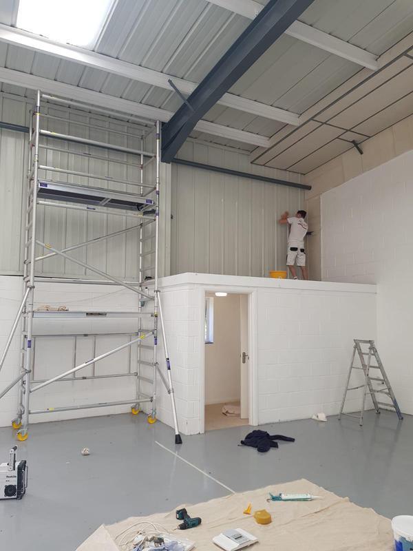 Image 3 - Factory interior redecoration
