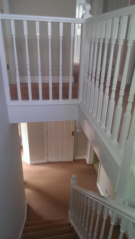 Image 4 - Hallway, Stairs and Landing in Huntingdon