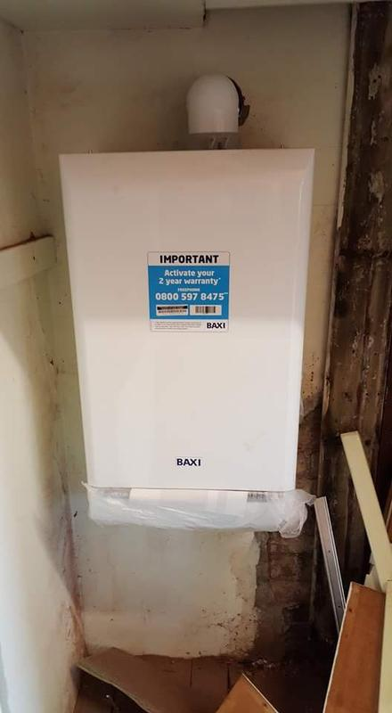 Image 70 - Happy customer with a new boiler