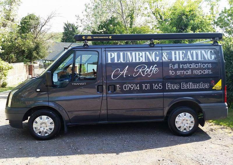 A Rolfe Plumbing & Heating logo