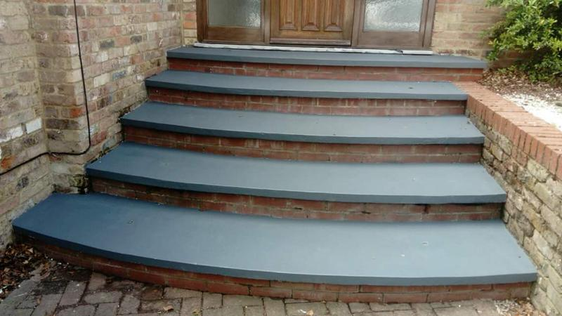 Image 34 - Non slip paint on concrete steps