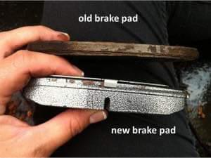 Image 3 - CHECK YOUR BRAKES AND DISCS REGULARLY FOR YOURS AND YOUR FAMILIES SAFETY