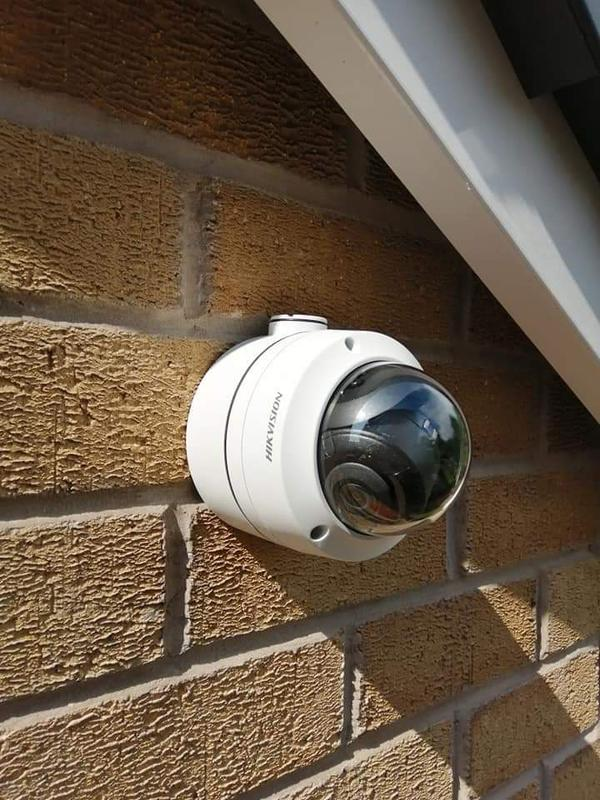 Image 11 - Hikvision IP CCTV system designed and installed to cover all external angles of a domestic property.