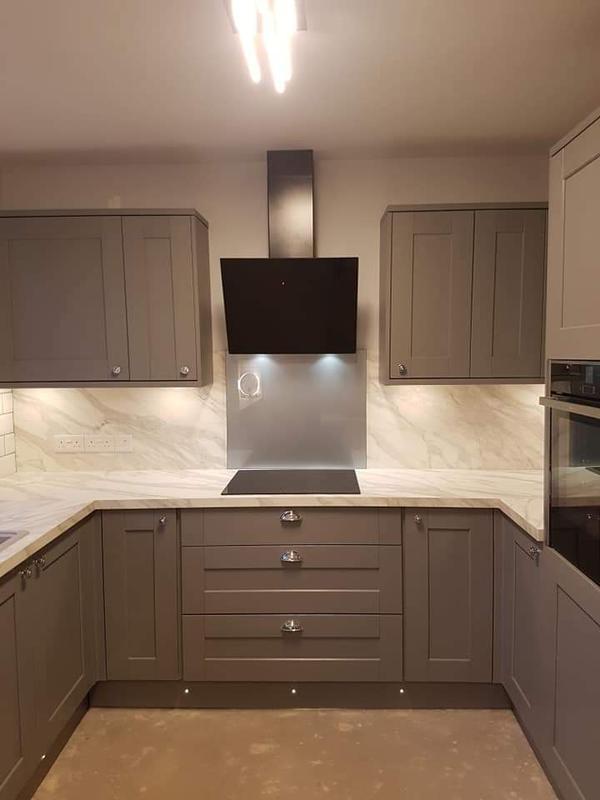 Image 30 - Kitchen rewire.