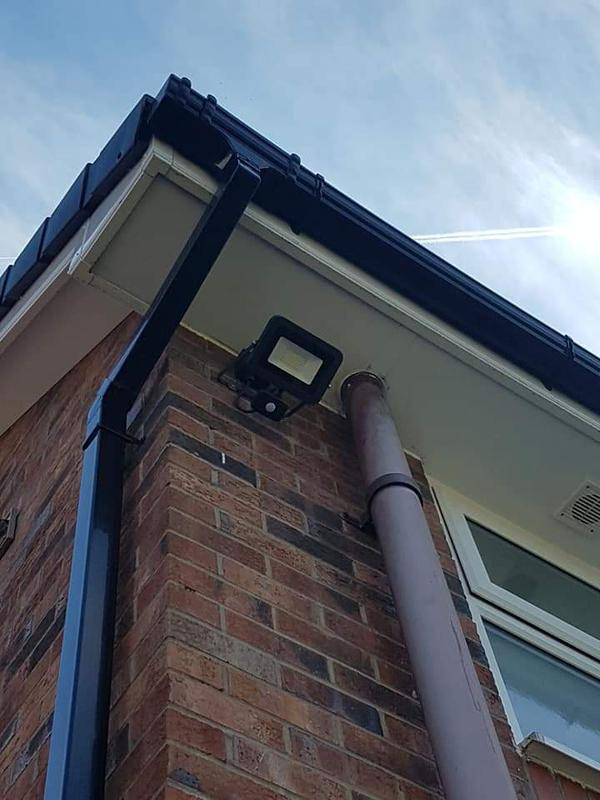 Image 32 - Outside security lighting.